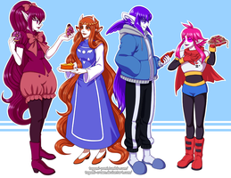 Engelbaum x Undertale Crossover 1 by Tagami-Crown