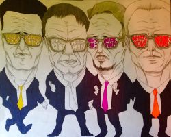 Reservoir Dogs by SnailShoes