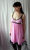 bedecked with pearls BABYDOLL by smarmy-clothes