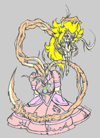 Peach necromorph colored by snakeuser74