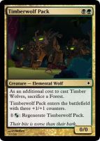 Timberwolf Pack by ManaSparks