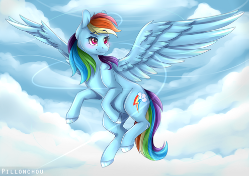 To the sky by Pillonchou
