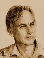 Richard Dawkins by bronze-dragonrider