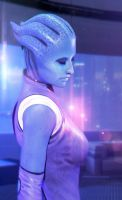 Asari (Mass Effect) by SallibyG-Ray