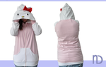 Hello Kitty Hoodie by NymphadoraDesigns