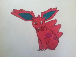nidoran (boy) by mydogbridget