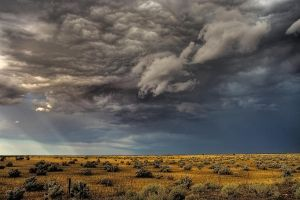 Churning Sky by bjstevens