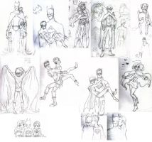 DC sketchdump by Te-double-gz