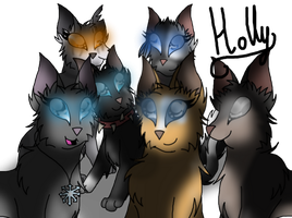 Cats from the comics by Holly2001