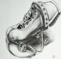 Roller Skate by Aggiepuff