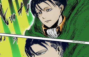 Rivaille/Levi Coloring by MegaBleachy