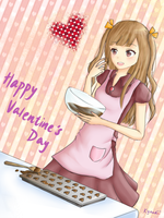 Happy Valentine's Day~~ :3 by ShiraKyandii