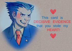 Turnabout Valentine - Phoenix Wright by YouAreReadingThis