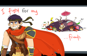SMASH: I Fight for my Friends by lewisrockets
