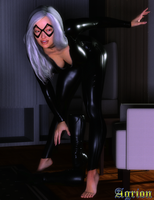 Black Cat by Agr1on