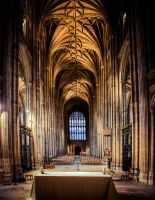 Inside Canterbury Cathedral 2 by DanielGliese