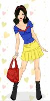 Disney Fashionistas: Snow White by keb17