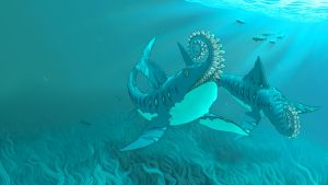 Helicoprion Concept 1 by BlayneFox