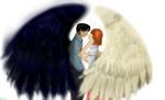 Levi x Petra - Wings of Freedom- white balance by LevairAmeliaRivaille