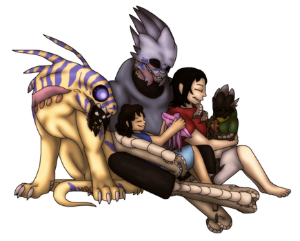 Mass Effect: The Shakarian Family by spyroid101