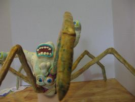 Spider-Head Thing Potatohead Close-up Of Leg by Potatoheadmaster