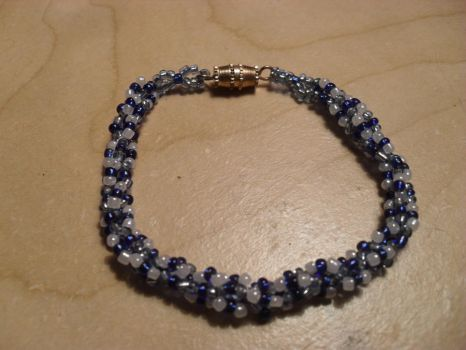 Adorable Spiral Beaded Bracelet by GuillotineChan