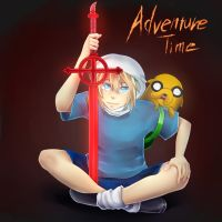 Finn and Jake  Sword by ShotaconYhin