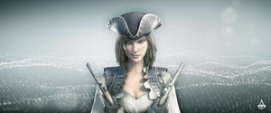 Lady Black - AC4 Multiplayer Character by Fast-Cursor