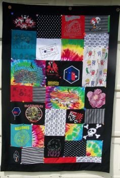 My T-shirt Quilt by heather13olson