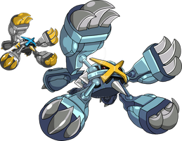 376 - Mega Metagross by Tails19950