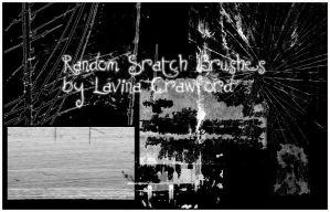 .:Random Scratch Brushes:. by LavinaStock