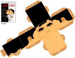 Scarface cubeecraft XL pt-2 by randyfivesix