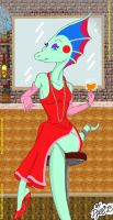 Myrna(The Adventures Of T-Rex) by Dyel75