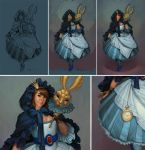 Alice Progress by JessiBeans
