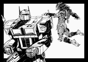 prime vs predator by mansloth