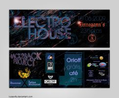Electro House Flyer by lucasvfa