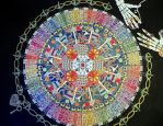 Mandala7 revealed (handdrawn on 32x40 inch) by Lou-in-Canada