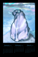 Elemental Winter Calendar by noiselessness