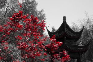 Pavilion of the Three Friends by eprowe