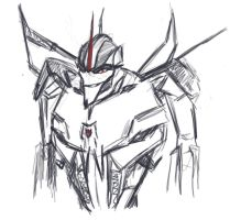 Starscream  by BrabarMoony
