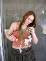 green necklace 10 by PhoeebStock