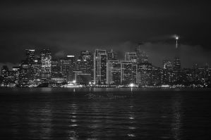 San Fran At Night by o0oLUXo0o