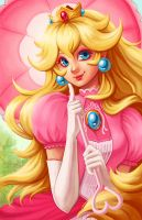 Princess Peach by sketchtastrophe