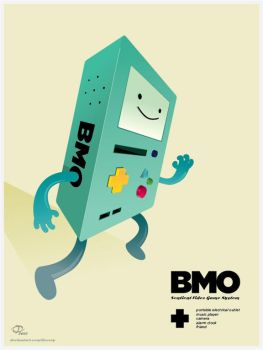 BMO Poster by Tloessy