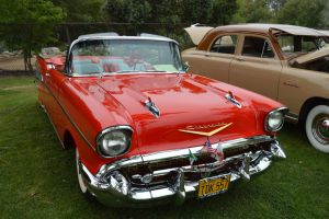 1957 Chevrolet Bel-Air Convertible VII by Brooklyn47