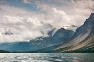 Crowfoot Glacier by EvaMcDermott