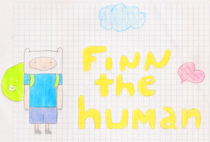 Finn the Human by PinkuValentine