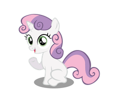 MLP - 1st Sweetie Belle Vector by Yoshi-Boshi-72