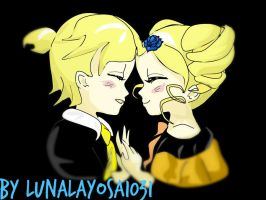 Boomer/Len and Miyako/Bubbles/Rin: Story Of Evil by LunaLayosa-1031