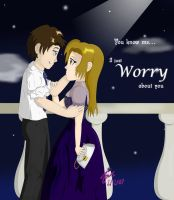 John and Belle - Worry by IrisAngel131